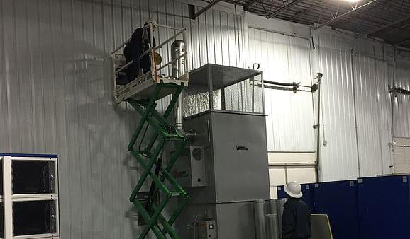 Repairing Fastenal HVAC System